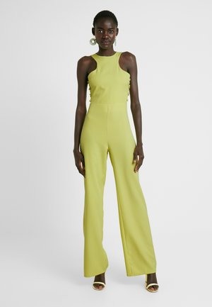 BUTTON SIDE DETAILED - Tuta jumpsuit - washed lime