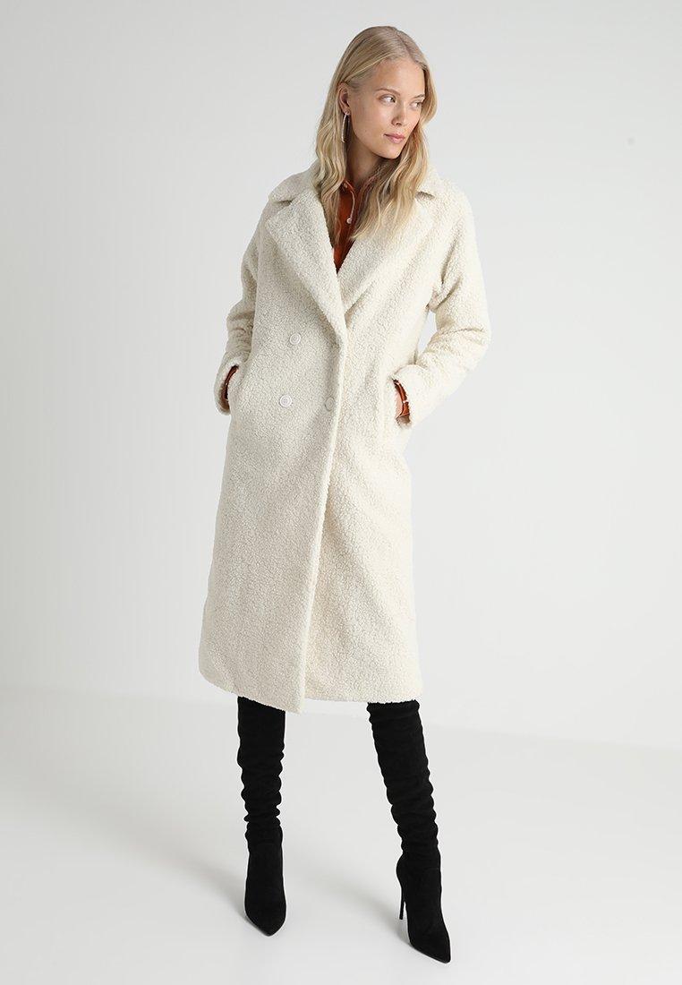 Missguided Tall - LONGLINE COAT - Wollmantel/klassischer Mantel - ivory