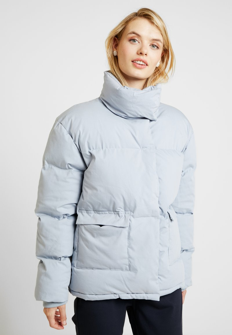 Missguided Tall - ULTIMATE PUFFER - Winter jacket - surf blue