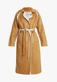 Missguided Tall - REVERSIBLE BELTED WITH DETAIL - Classic coat - brown - 6