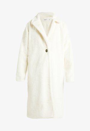 LONG LINE COAT - Veste d'hiver - white