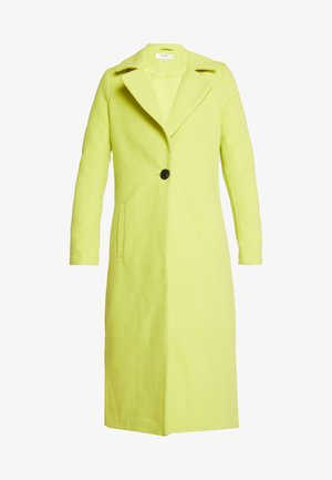 SINGLE BUTTON FRONT COAT - Kappa / rock - neon lime