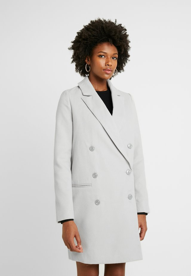 DOUBLE BREASTED FORMAL COAT - Manteau classique - grey
