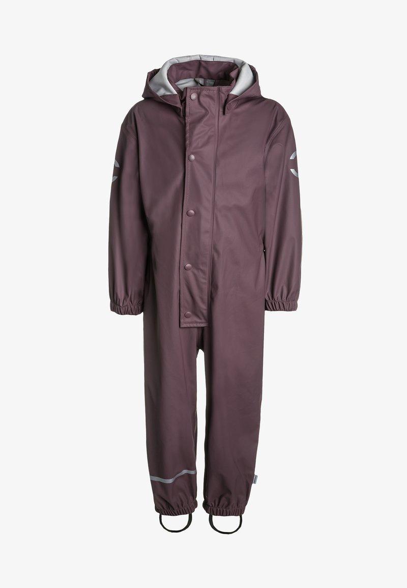 mikk-line - RAIN SUIT - Overall / Jumpsuit /Buksedragter - flint
