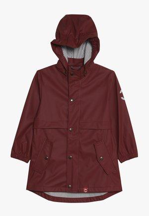 GIRLS RAIN COAT - Impermeabile - burnt russet
