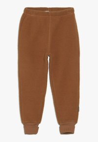 mikk-line - PANTS - Træningsbukser - leather brown - 0