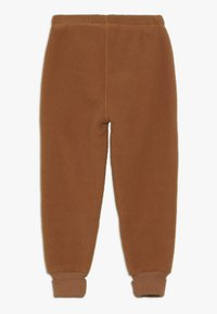 mikk-line - PANTS - Träningsbyxor - leather brown - 1