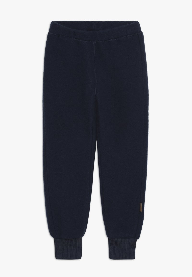 mikk-line - PANTS - Tracksuit bottoms - blue nights