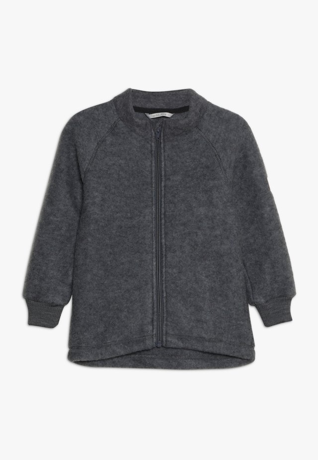 JACKET - Fleecejakker - melange grey