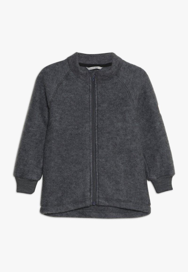mikk-line - JACKET - Kapuzenpullover - melange grey