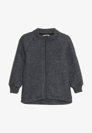 JACKET - Fleece jacket - melange grey