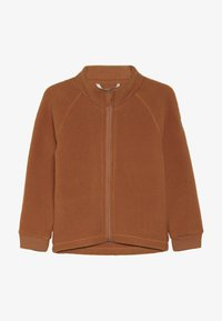 mikk-line - JACKET - Fleecejakker - leather brown