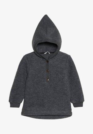 Hoodie - melange grey