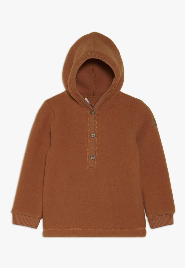 Mikina skapucí - brown