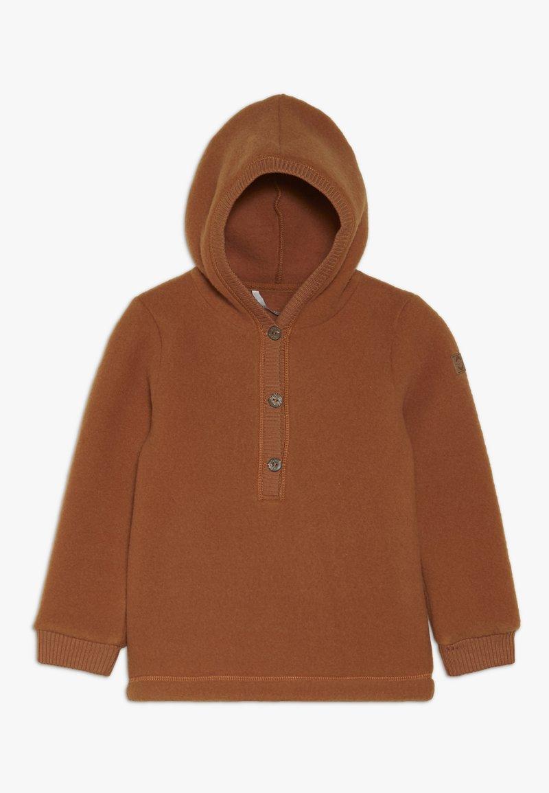 mikk-line - Felpa con cappuccio - brown