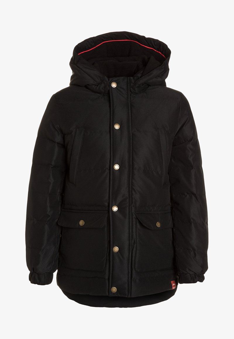 mikk-line - BOYS JACKET DETACHABLE - Abrigo de plumas - black