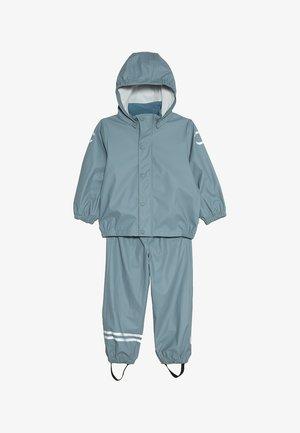 RAIN SET - Waterproof jacket - citadel