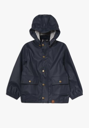 BOYS RAIN JACKET - Veste imperméable - blue nights