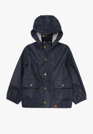 BOYS RAIN JACKET - Waterproof jacket - blue nights