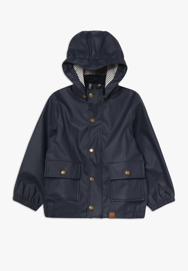 BOYS RAIN JACKET - Vodotěsná bunda - blue nights