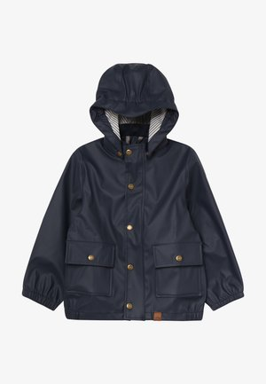 BOYS RAIN JACKET - Regnjacka - blue nights
