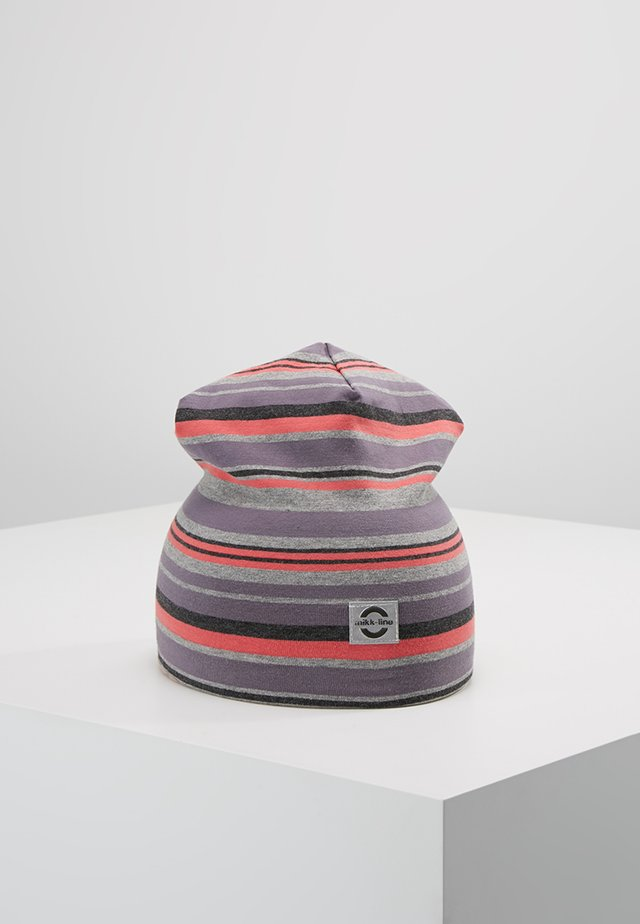 HAT MULTI STRIPE - Čepice - dusty quail
