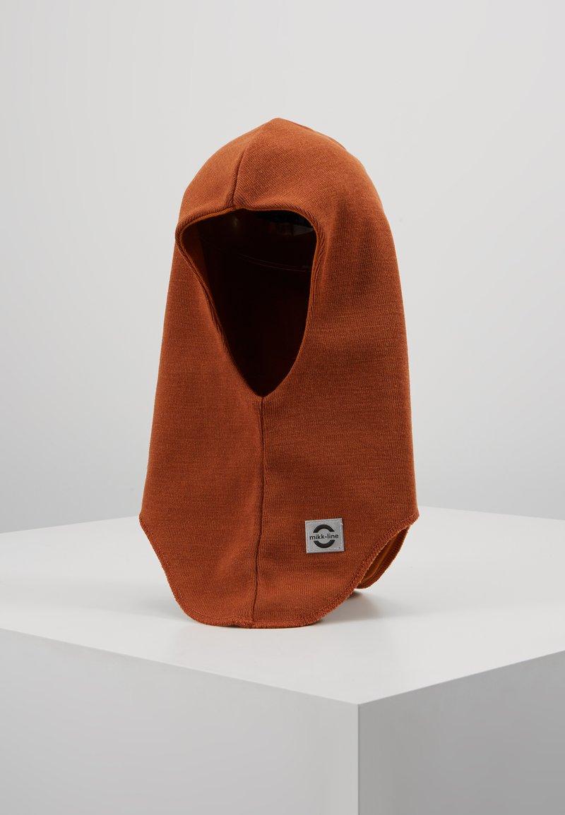 mikk-line - FULLFACE - SOLID WINDSTOP - Bonnet - brown