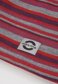 mikk-line - HAT  STRIPES - Muts - pompeian red - 2