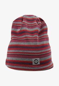mikk-line - HAT  STRIPES - Berretto - pompeian red - 1