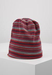 mikk-line - HAT  STRIPES - Berretto - pompeian red - 3