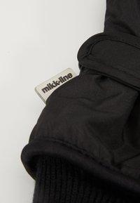 mikk-line - THINSULATE GLOVES - Handsker - black - 3