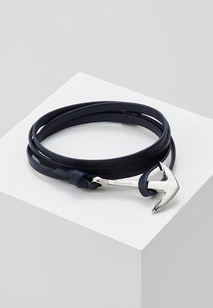 ANCHOR ON BRACELET - Armband - navy blue