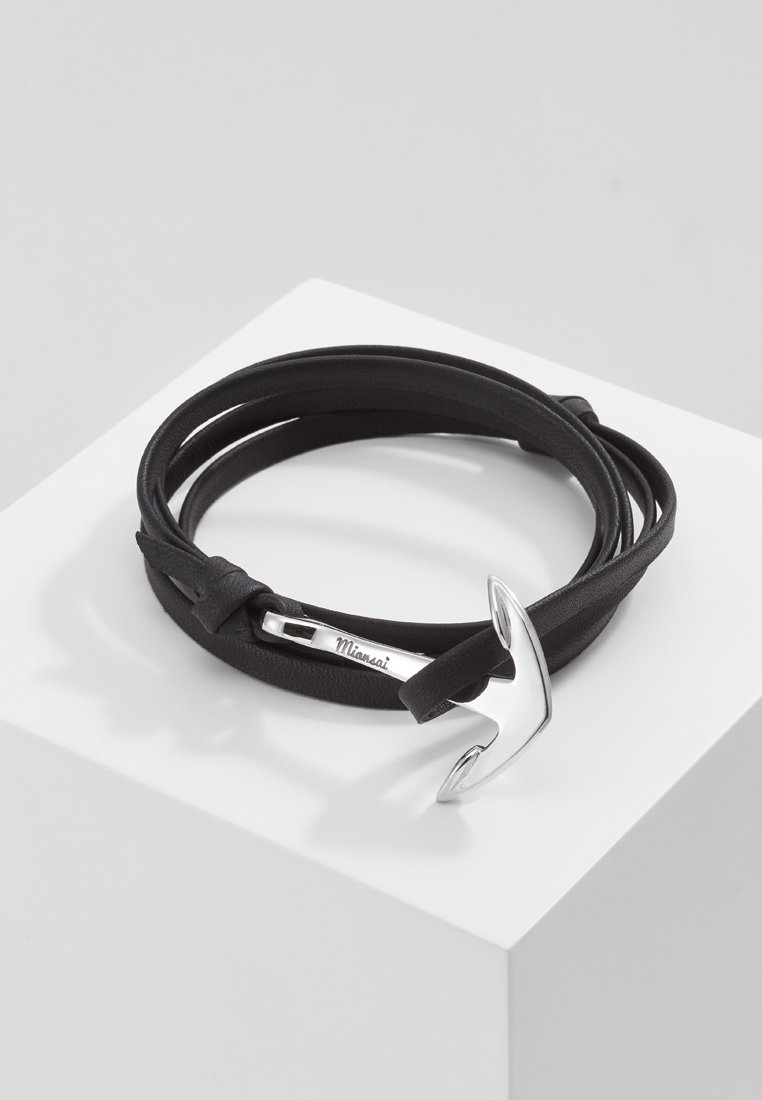 Miansai - ANCHOR ON BRACELET - Armband - black