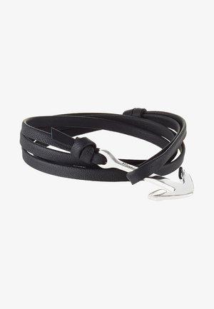 ANCHOR ON BRACELET - Bracelet - black