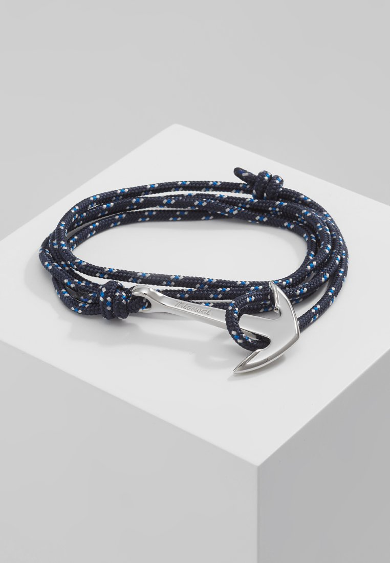 Miansai - ANCHOR ON ROPE BRACELET - Rannekoru - indigo
