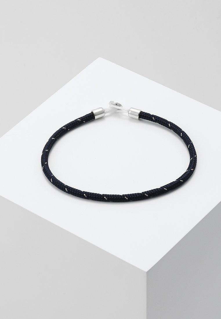 Miansai - NEXUS ROPE BRACELET - Armband - navy/steel
