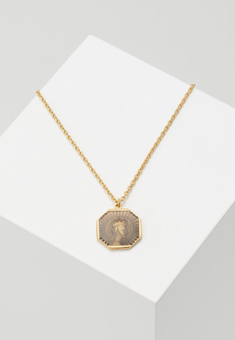 Miansai - FACELESS KING PENDANT NECKLACE - Necklace - gold