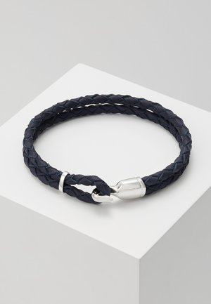 SINGLE TRICE BRACELET - Pulsera - navy blue