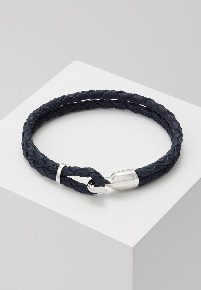 SINGLE TRICE BRACELET - Bracelet - navy blue