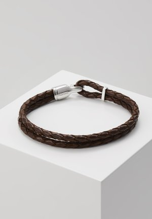 SINGLE TRICE BRACELET - Armbånd - brown