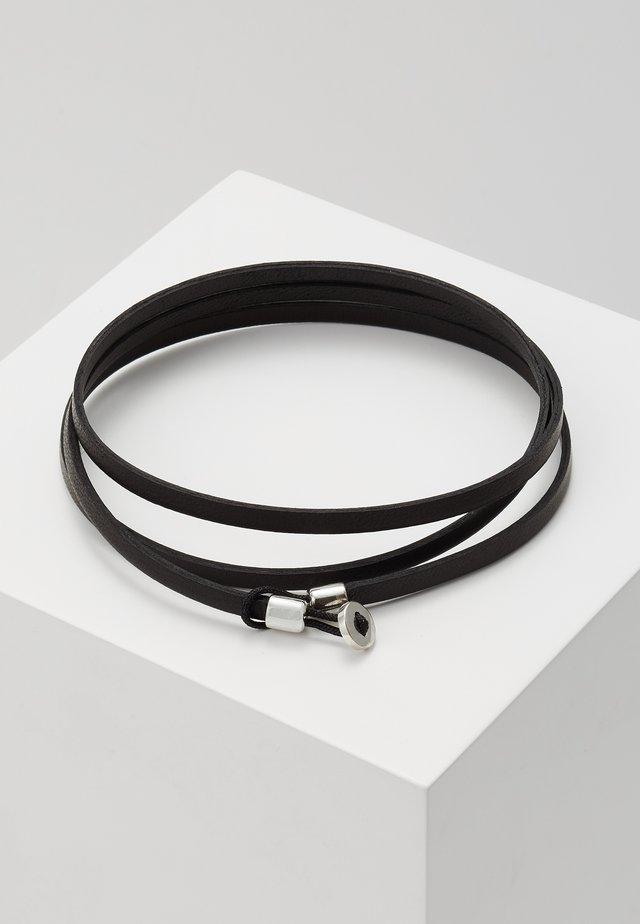 NEXUS WRAP BRACELET - Armband - black