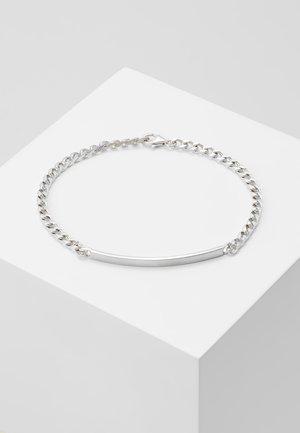 ID CHAIN BRACELET - Armband - matte silver