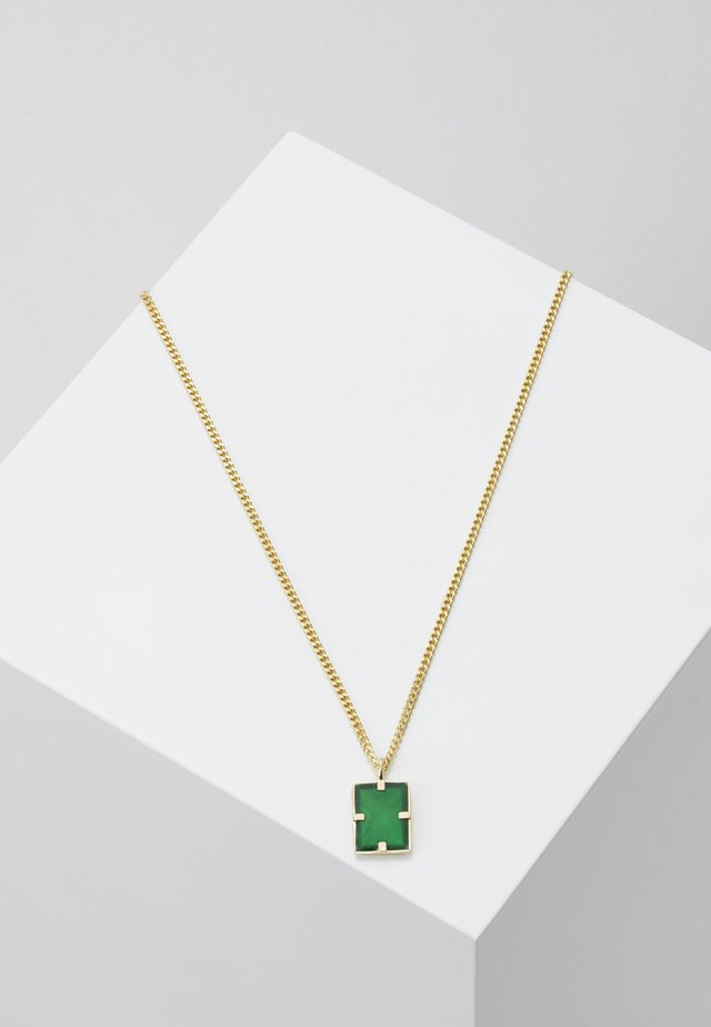 LENNOX PENDANT NECKLACE - Kaulakoru - green