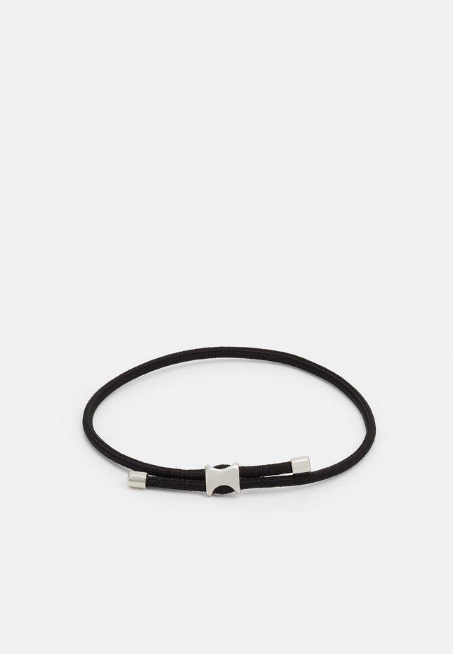 ORSON PULL ROPE BRACELET - Armband - black
