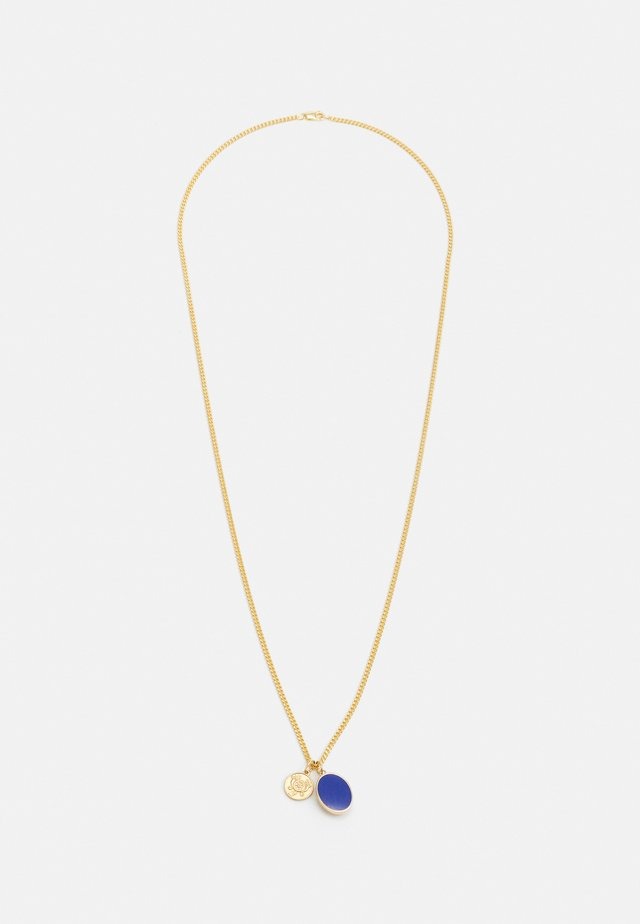 HERITAGE PENDANT NECKLACE - Halsband - gold-coloured