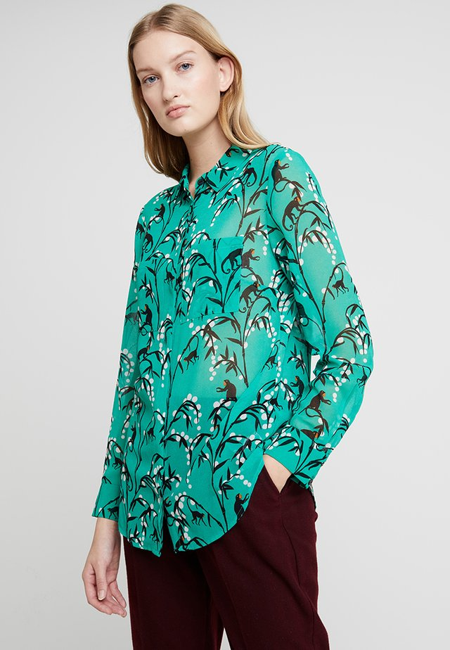 EMMA PRINT BLOUSE - Button-down blouse - multi