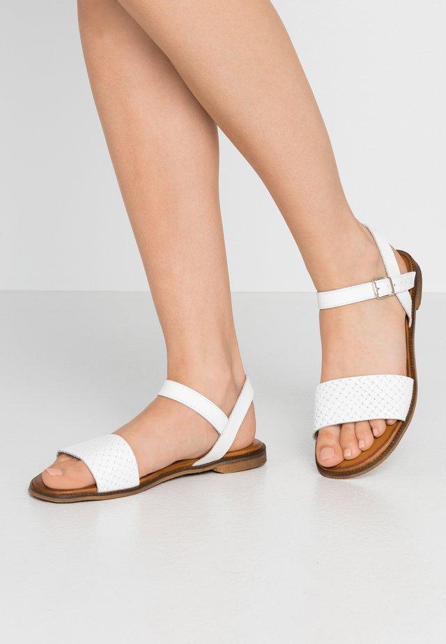 Sandaler - blanco