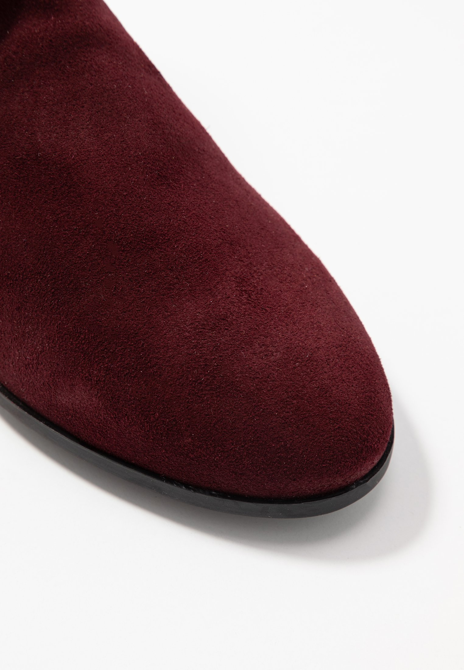 Mis Pepas Boots à talons dark burgundy