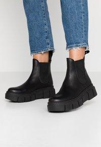 Mis Pepas - GRAF - Kotníková obuv - black - 0