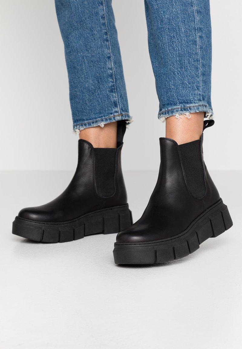 Mis Pepas - GRAF - Kotníková obuv - black